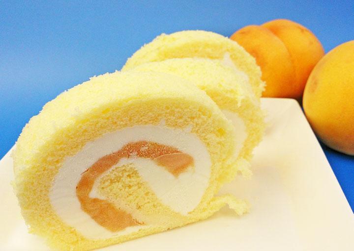 黄美娘ロールケーキ