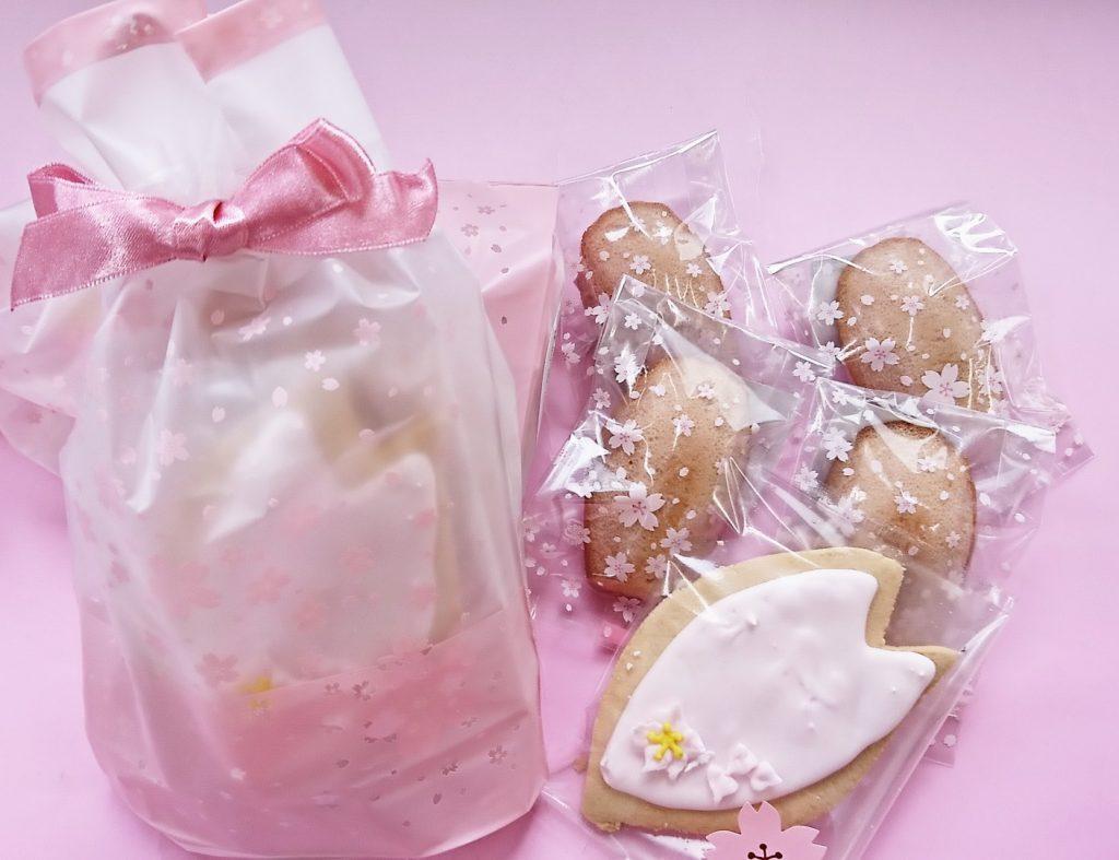 桜花びらクッキー&マドレーヌ