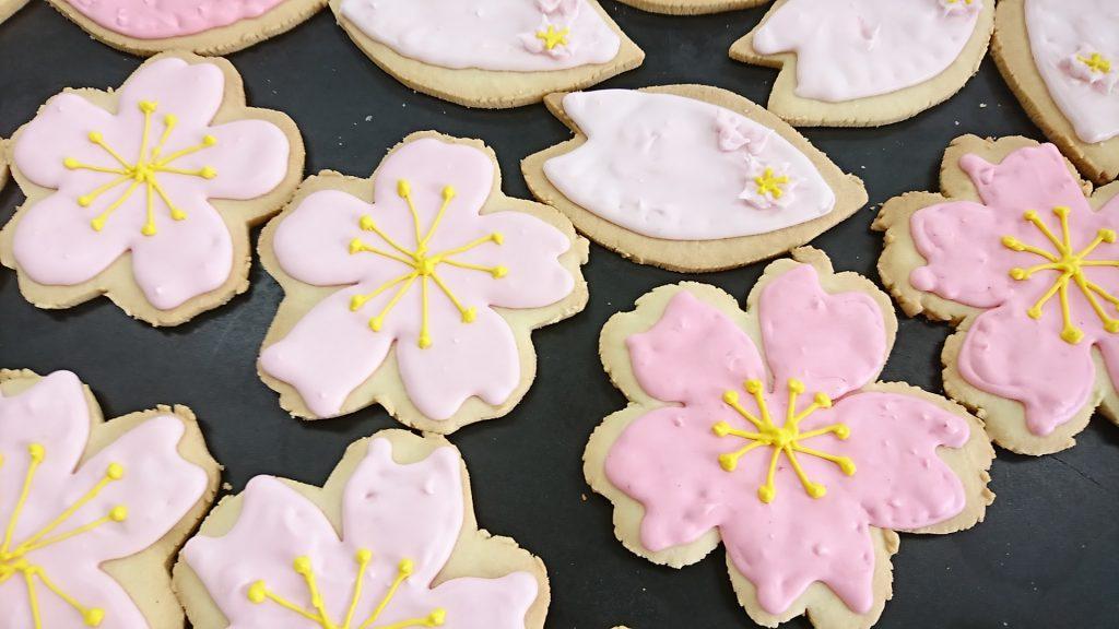 桜&花びらクッキー
