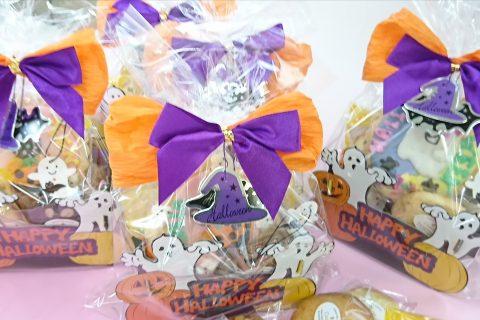 ハロウィン焼き菓子アソートできました(*^^*)