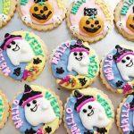 10月、ハロウィン焼き菓子できました(*^^*)