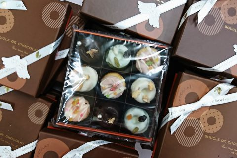 焼きドーナッツショコラ~天使の輪~できました(*^^*)