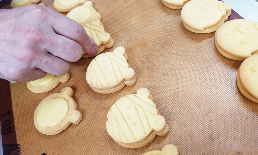 ハロウィンクッキー(かぼちゃ)