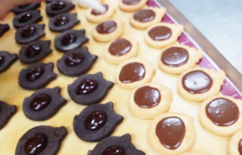 ハロウィンクッキー(ミルク)・(ココア)
