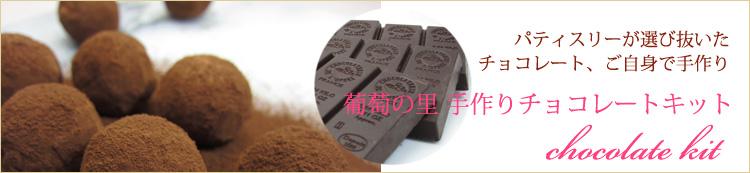 葡萄の里手作りチョコレートキット