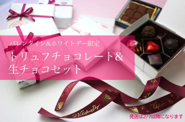 トリュフチョコレート・生チョコセット